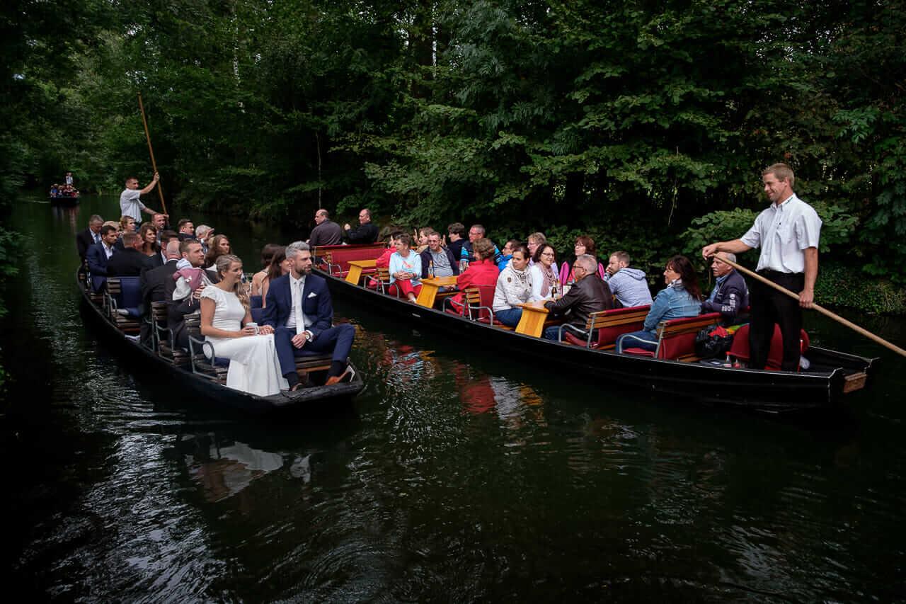 Hochzeit im Biosphärenreservat Spreewald